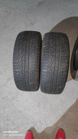 Зимни гуми,Hankook 215/55/ 16 Dot 2018 и Continental contact 215.60.16