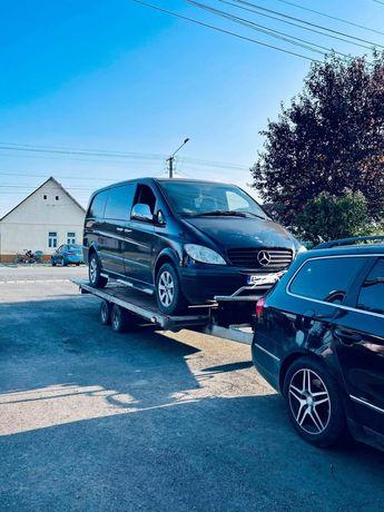 Vând platformă / trailer basculabil Bateson pentru transport auto Î