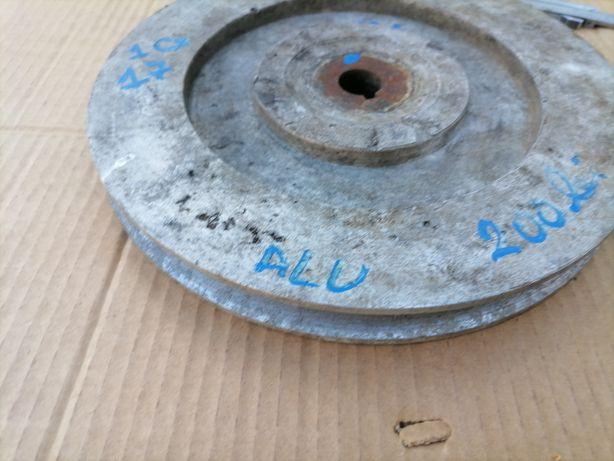Fulie 25 cm aluminiu