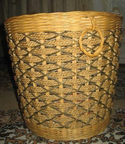 Корзина натуральная, из ротанга, Малайзия - 14,000 тенге