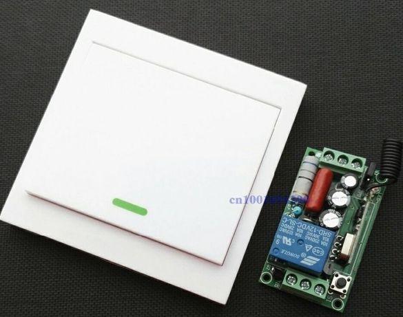 Telecomanda lumina automatizare circuit electric casa, rulota
