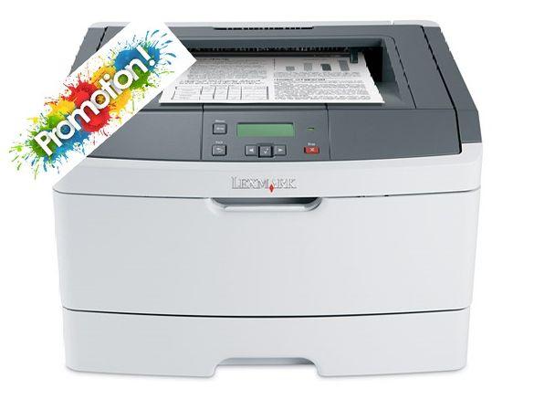 Лазерен принтер Lexmark E460dn зареден с голяма тонер касета