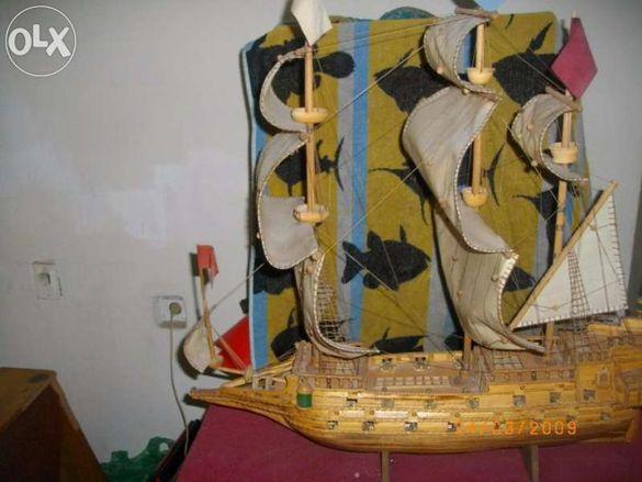 макет на кораб