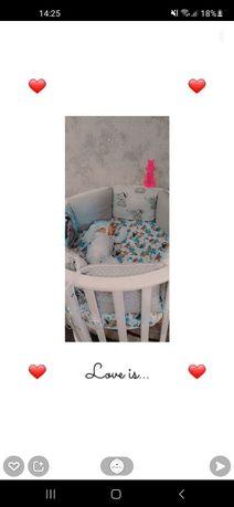 Продам кровать детскую 7 в 1,в отличном состоянии