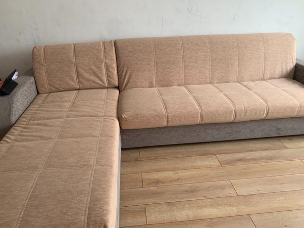 Угловой диван, с ортопедическим основанием