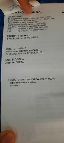 Scooter electric FREEWHEEL NEGREU
