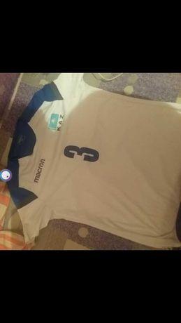 Настоящая футболка формв сборной Казахстана по волейболу.