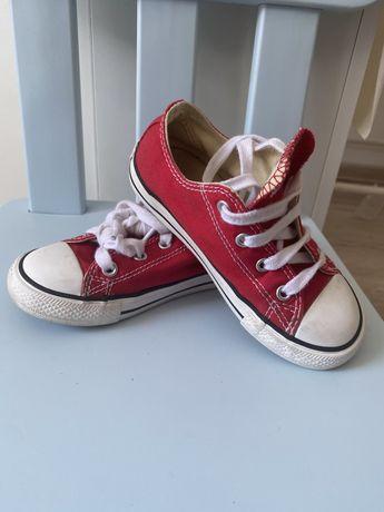Converse rosii, tenesi, papuci, marimea 25