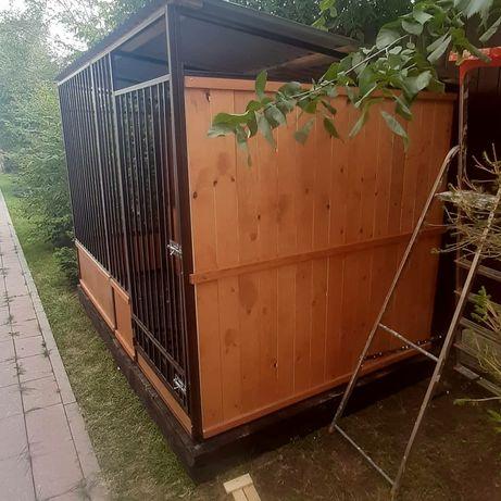 Вольер вальер будка для собаки клетка утепленная питомник