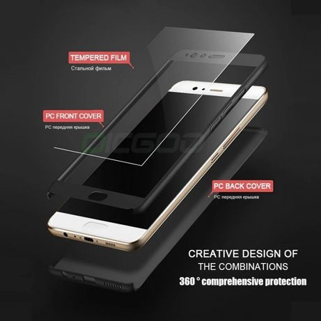 Кейс 360° градуса мат за Huawei P10 Lite Mate 10 Lite P8 Honor 8 P9 li