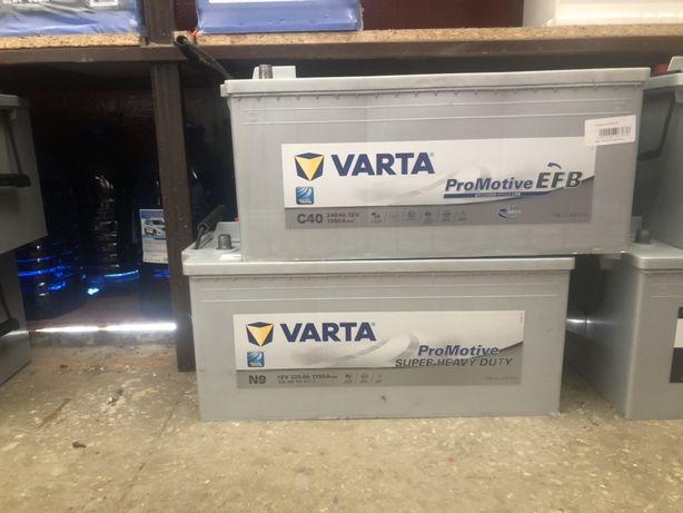 Продам новый аккумулятор Varta 225