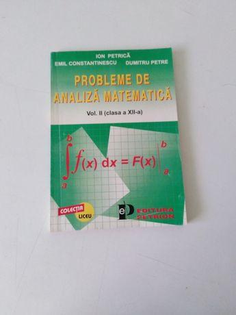 probleme de analiza matematica - clasa a XII-a