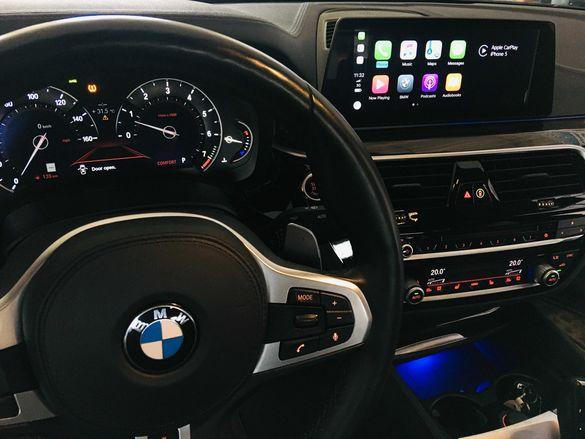 BMW CarPlay Android Auto Map Update Cluster Codin Us to Eu FM Radio