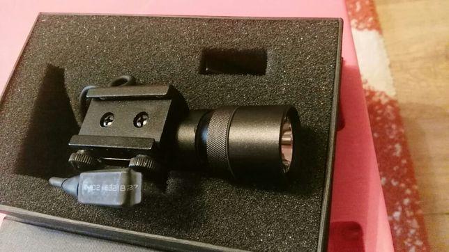 Red Dot pt. Pistol. Dispozitiv ochire cu Laser si lanterna