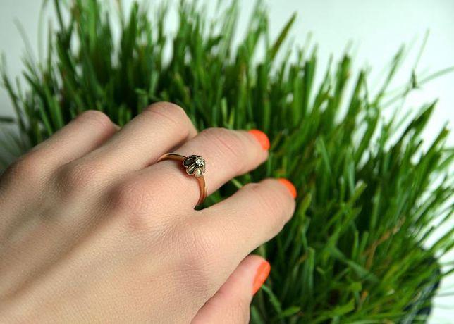Кольцо с бриллиантами, золото 585 (14K), вес 3.68 г. «Ломбард Белый»