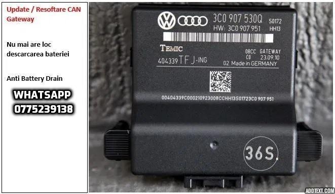 Upgrade CAN Gateway Volkswagen Skoda Seat Descărcare Baterie Bucuresti - imagine 1