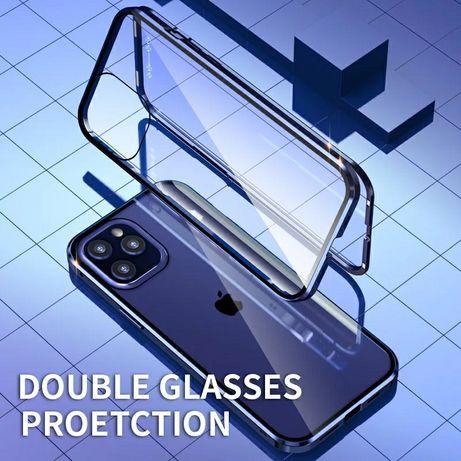 Двоен Магнитен Кейс за Apple iPhone 12 / 12 Pro / Max / 360 Градуса
