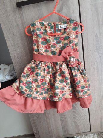 Детска рокля за малка госпожица ,размер 80-86 !