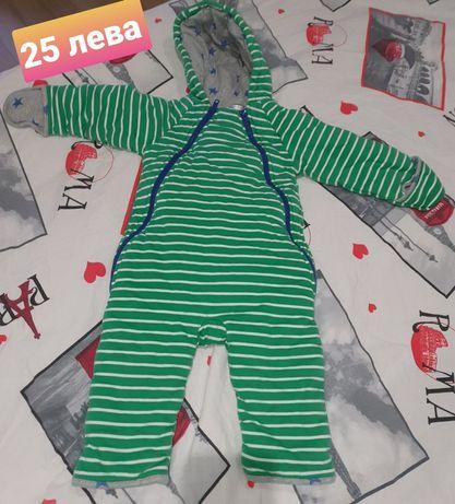 Бебешки-детски космонавти/ескимоси 12-18м obaibi и чувал за спане