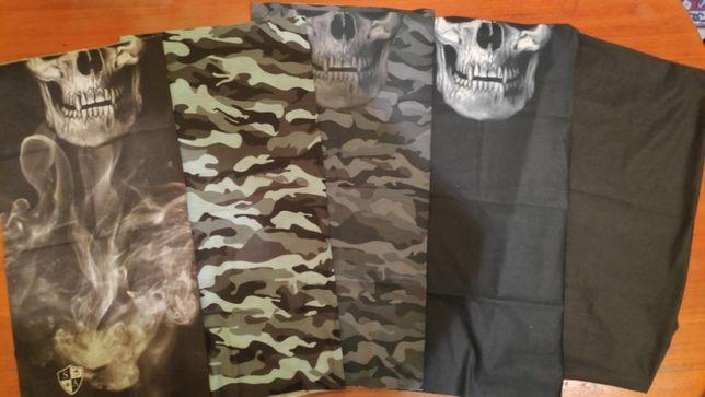 Masca camuflaj/balaclava vanatoare/pescuit/cagula