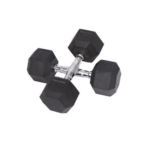Gantere hexagonale 5kg (2x5 kg)