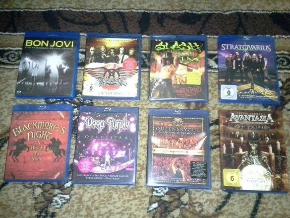 Blu-ray дискове оригинални rock и metal