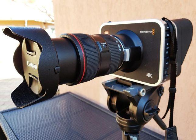 Vind Camera video profesionala Blackmagic-EF 4K + SSD 500 Gb + DaVinci
