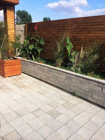 Fabrica de pavele din beton - producem model 22x22 cu 20x10 cm