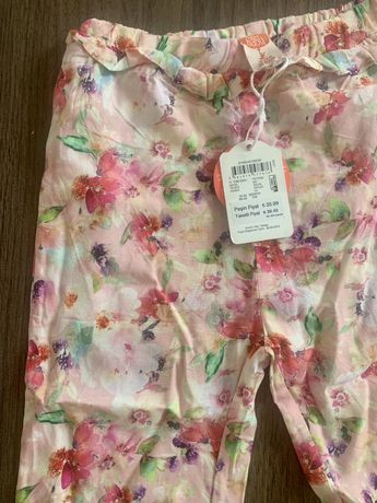 Летние штанишки для девочки Koton