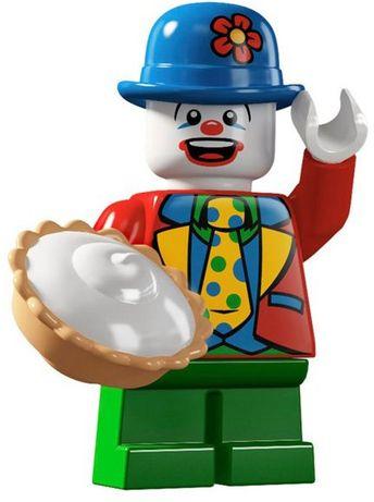 Collectable Minifigures Series 5 - Small Clown 8805-9