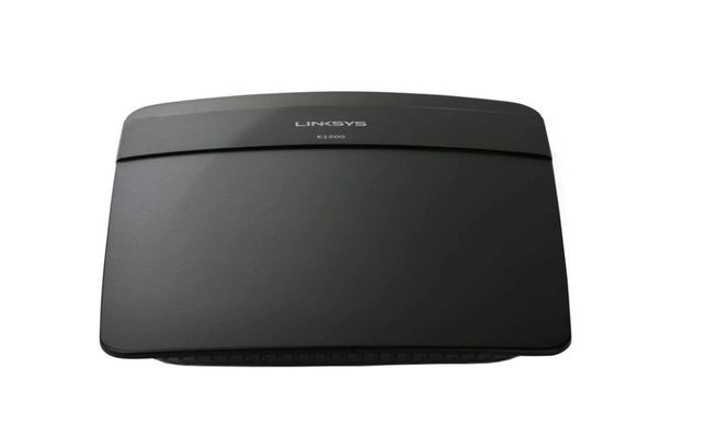 Router Wireless Linksys E1200, N 300 Mbps, 4 x 10/100 Mbps