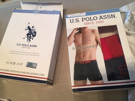 Боксерки, чорапи на U. S. Polo assn от Турция