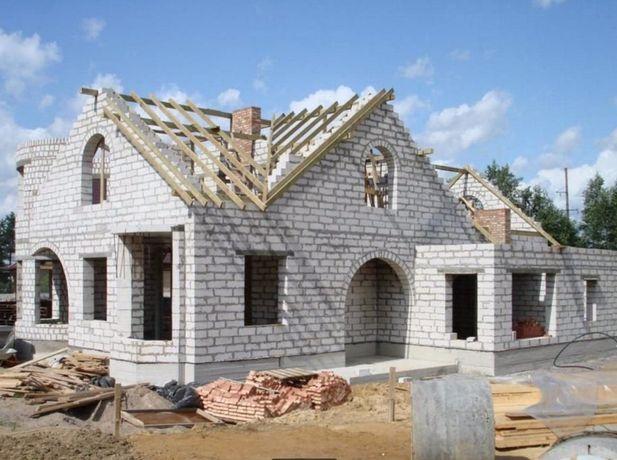 Строительные работы Строительство домов коттеджей