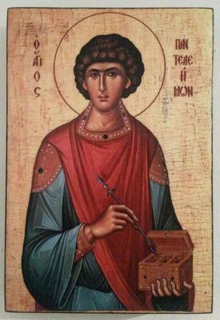 Икона на Свети Пантелеймон icona Sveti Panteleimon
