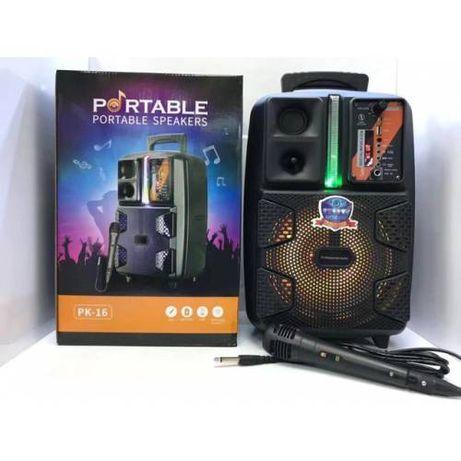 Блютуз Колонка pk-16.караоке колонка.bt speaker.bluetooth.буфер