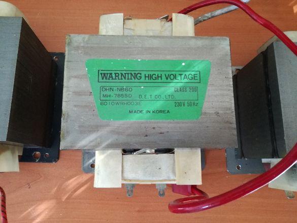 Трансформатори и магнетрони за микровълнова