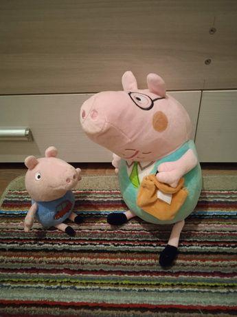 Свинка пеппа.Папа и джордж