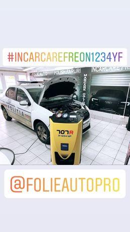 Folie auto Premium LLumar / Incarcare Freon R1234yf / Polish faruri