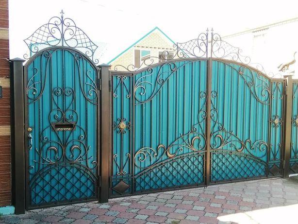 Продам металлические утеплённые двери, решетки