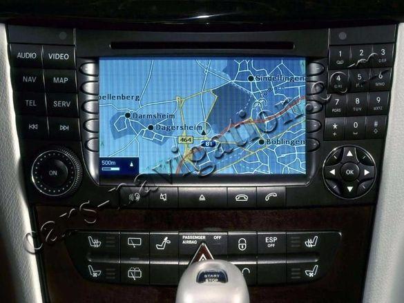 Диск навигация 2021 България Мерцедес Mercedes E CLS SLK CL SL S Vito