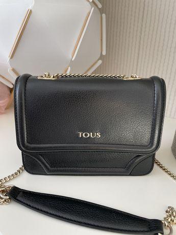 оригинална дамска чанта TOUS естествена кожа