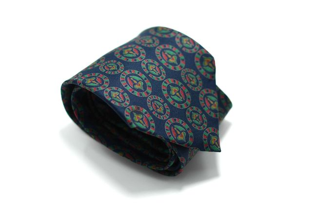 Cravata Barbati Christian Dior 9 x 147 cm Albastra Matase CR140