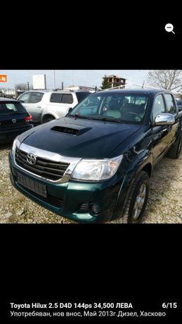 Toyota Hilux 2.5 d 2013г. 35000км. на части