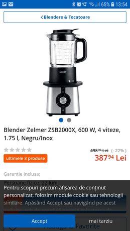 Blender multifunctional Zelmer, folosit foarte putin