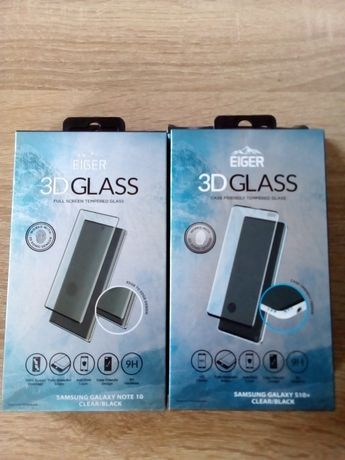 Vand folie sticla 3D Case Frendly Samsung Galaxy S10 Plus Note 10 negr