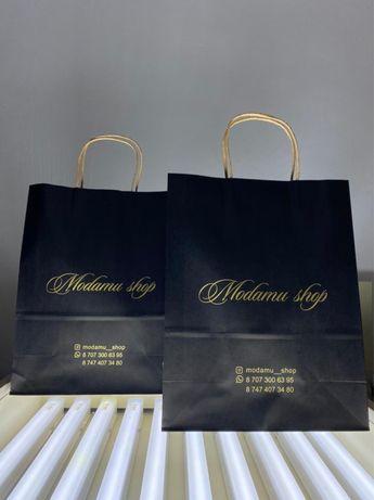 Нанесение логотипа на пакеты