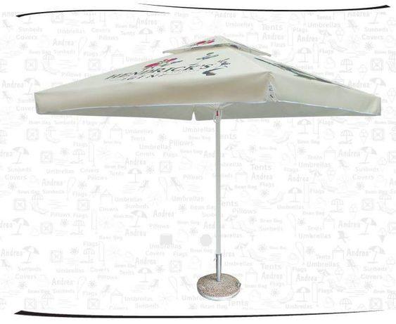 Чадър за заведения магазини. Платнище