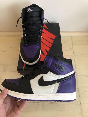 Nike Air Jordan 1 High Court Purple 1.0