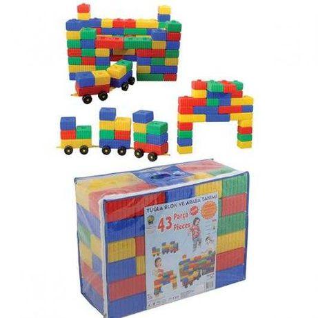 Конструктор с тухлани блокчета - 03251