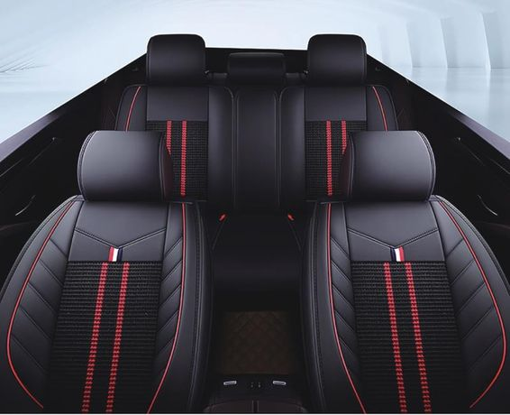 Пълен Комплект Луксозни Калъфи За Седалки Универсална Авто Тапицерия